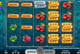 NetEnt-Fruit-Spin-gokkast