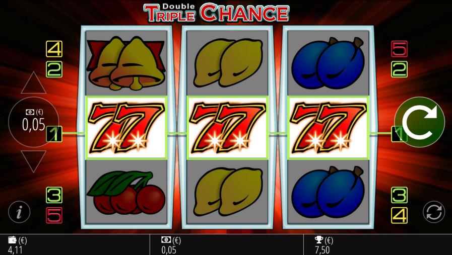 Double Chance Slot Machine