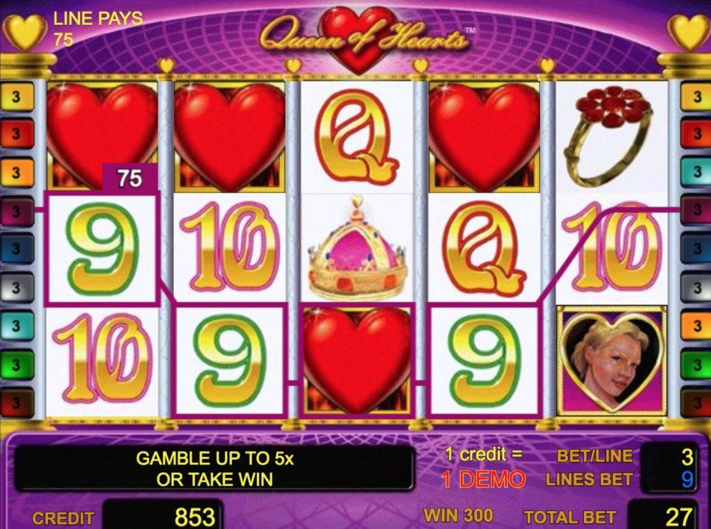 Free Slots Queen Of Hearts