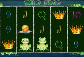 Wild-Frog-Merkur-Spielansicht